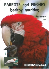 Parrots and Finches healthy nutrition